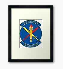 The Crest of the 323rd Training Squadron USAF Framed Print