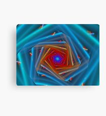 Colorful Piping Shaft  Canvas Print