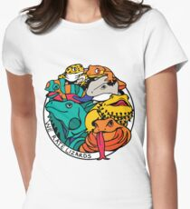We Rate Lizards  Women's Fitted T-Shirt