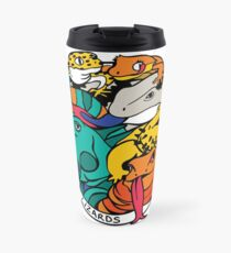 We Rate Lizards  Travel Mug