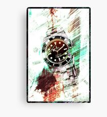 Rolex Submariner Canvas Print