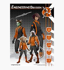 Engineering Division (Enlisted) Photographic Print