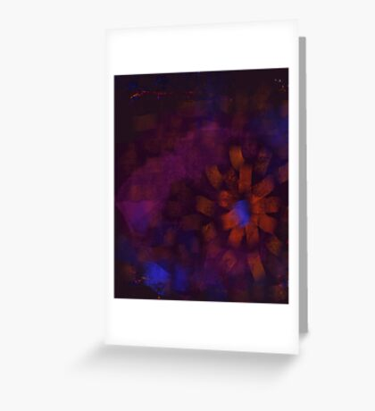 A Flower of the Night Greeting Card