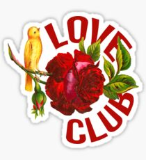 Love Club Sticker
