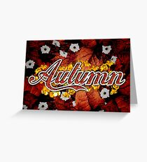 Autumn - 4 Seasons Print Range Greeting Card