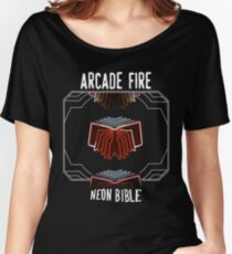 Arcade Fire - Neon Bible Women's Relaxed Fit T-Shirt