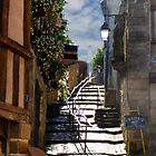 Saint Goustan Brittany France by Lynn Bolt