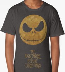The Nightmare of Jacks Face Long T-Shirt