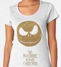 The Nightmare of Jacks Face Women's Premium T-Shirt