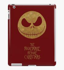 The Nightmare of Jacks Face iPad Case/Skin