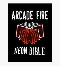 Arcade Fire - Neon Bible Photographic Print