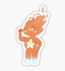 Heats Flamesman Sticker Sticker