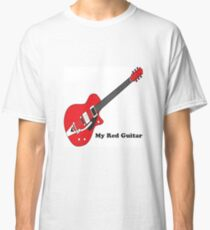 My Red Guitar Classic T-Shirt
