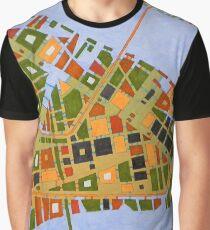 imaginary map of Dallas Graphic T-Shirt