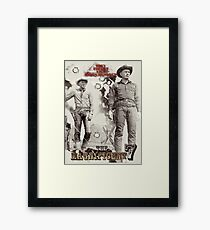 They fought like seven hundred Framed Print