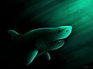 Lurking Shark by Lacey  Ewald