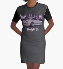 Straight Six Special V2 Graphic T-Shirt Dress