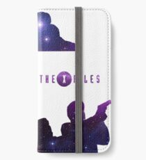 X-Files Galaxy iPhone Wallet