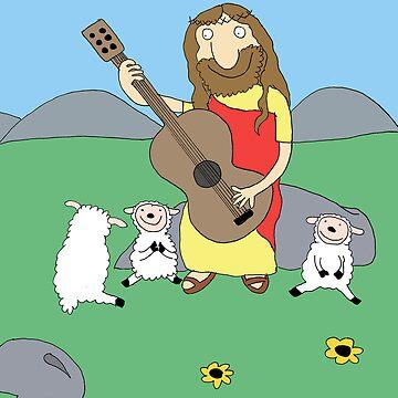 Jesus Rocks! by robotpower