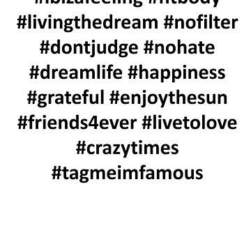 Hashtags by MartinusH