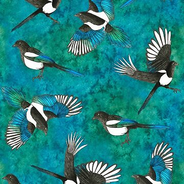 Magpies by VictoriaThorpe