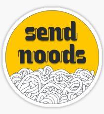 Send som' noods! Sticker