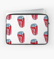 Bright Red Coca-Cola Can Laptop Sleeve