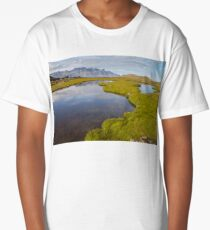 Icelandic landscape Long T-Shirt