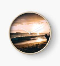 Sunset Boarding Clock