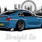 Straight Six V4 - Sticker by BBsOriginal