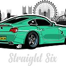 Straight Six V5 - Sticker by BBsOriginal