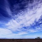Blue skies and beautiful clouds by Ruth Smith