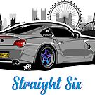 Straight Six Special V1 - Sticker by BBsOriginal