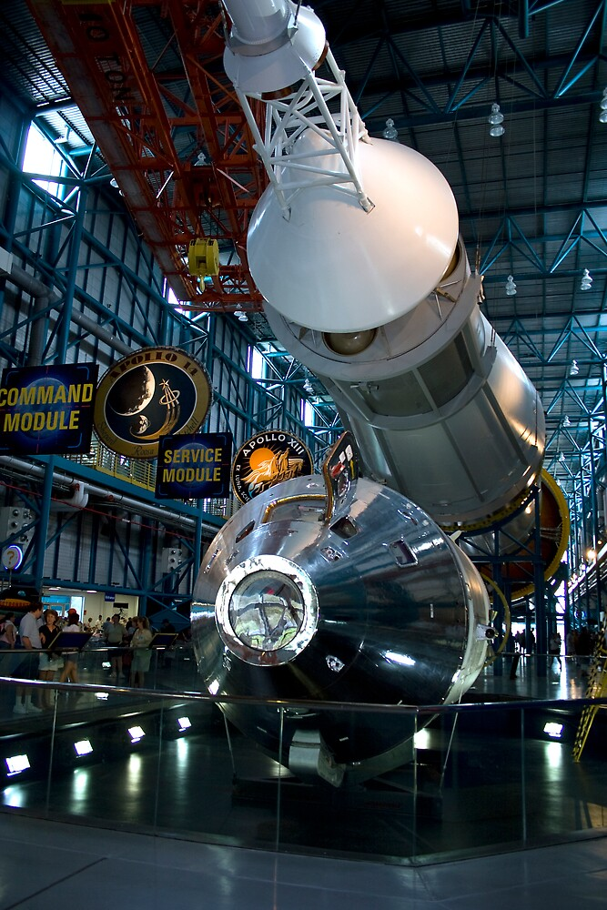 Apollo and Saturn V by Peter Ede