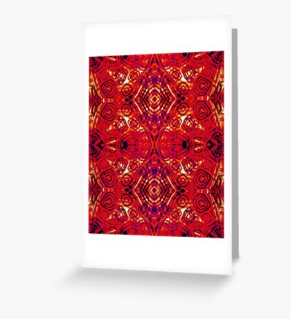 zen - I Am Rooted Greeting Card