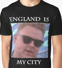 England Is My City T-Shirt (Black) Graphic T-Shirt