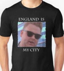 England Is My City T-Shirt (Black) T-Shirt