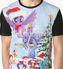 my little pony christmas Graphic T-Shirt