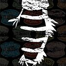 Distressed Fishbone Cover (Dark) by BoardsNBones