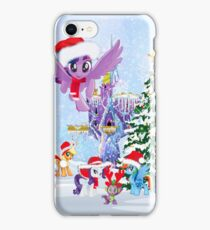my little pony christmas iPhone Case/Skin