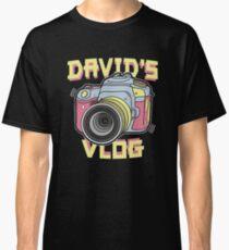 David's Vlog Retro T-Shirt Classic T-Shirt