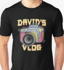 David's Vlog Retro T-Shirt T-Shirt