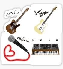 All Phoenix Band Members Together Sticker