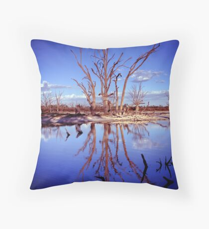 The Blues... Throw Pillow
