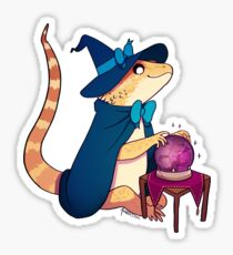 Bearded Dragon - Hawke 1 Sticker