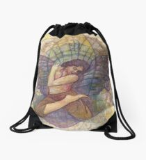 I Am The Universe Drawstring Bag