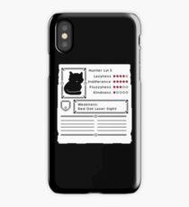 RPG Video Game Cat iPhone Case/Skin
