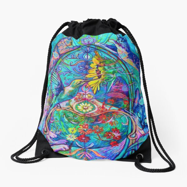 Cats Drawstring Bag