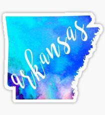 Arkansas - Watercolor  Sticker