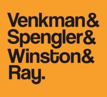 Venkman&Spengler&Winston&Ray